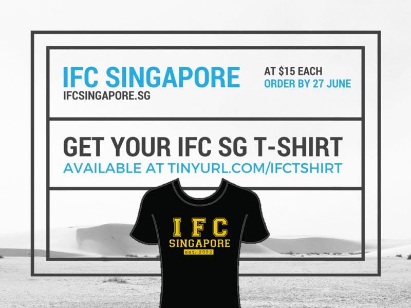 ifc singapore tshirt