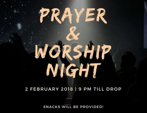 prayer and worship night